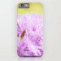 Lavender Flower Macro iPhone 6 Slim Case