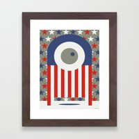BALLOT Framed Art Print