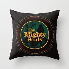 The Mighty Souls: Reggae Legends Throw Pillow