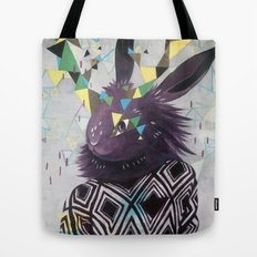 Dark Rabbit Tote Bag