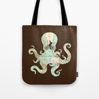 All Around The World Tote Bag