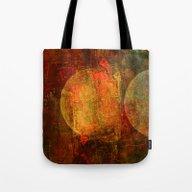 Abstract Moons Tote Bag