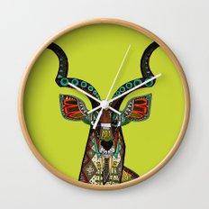 antelope chartreuse Wall Clock