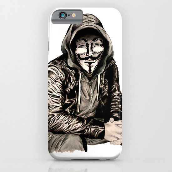 Anonymous Gangster iPhone & iPod Case