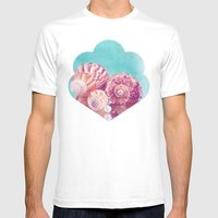 Seashell Group Mens Fitted Tee White SMALL