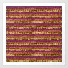 Colorful Wild Spirit Feathers Art Print