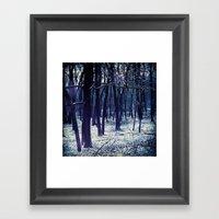 WINTERY Framed Art Print