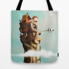 Bird Keeper Tote Bag
