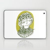 Spring Cat Lady  Laptop & iPad Skin