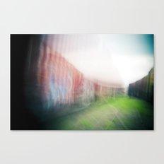 Holga photography Canvas Print