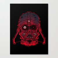 Monster Vader Canvas Print