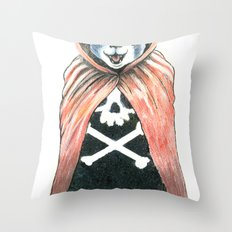 Cat Cape Throw Pillow