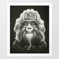 Commander Art Print