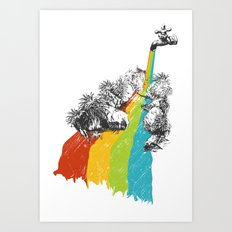 Eden Garden Art Print