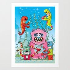 Flesh and Teeth's Art Print