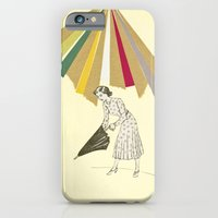 iPhone & iPod Case featuring Downpour by Cassia Beck