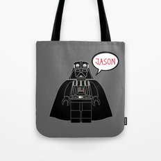 Personalized Darth Vader Tote Bag
