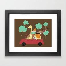 Vacations Framed Art Print