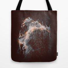 DARK LION #2 Tote Bag