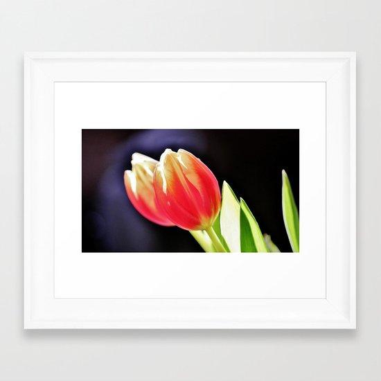 Les Tulipes Framed Art Print