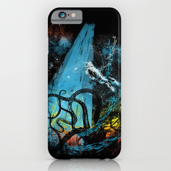 diving danger iPhone & iPod Case