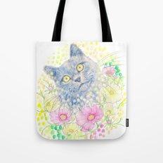 Dreamy Chartreux Cat Tote Bag