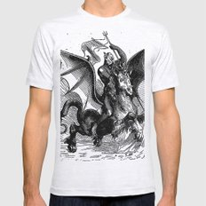 Abigor Mens Fitted Tee Ash Grey SMALL