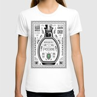 Legend Of Zelda Green Ch… Womens Fitted Tee White SMALL