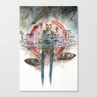 Guard Your Heart Canvas Print