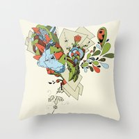 Flourish Throw Pillow