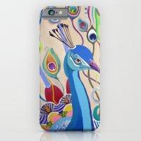 Peacock iPhone 6 Slim Case