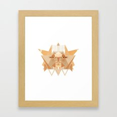leothelion Framed Art Print