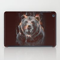 DARK BEAR iPad Case