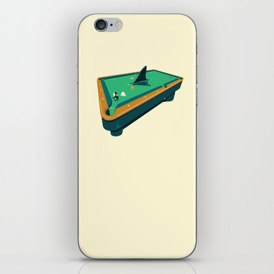 Pool shark iPhone & iPod Skin