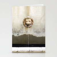 Three Lions Fountain Stationery Cards