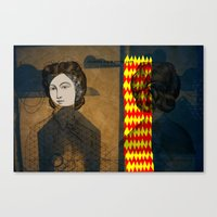 Coiffure For A Young Lad… Canvas Print