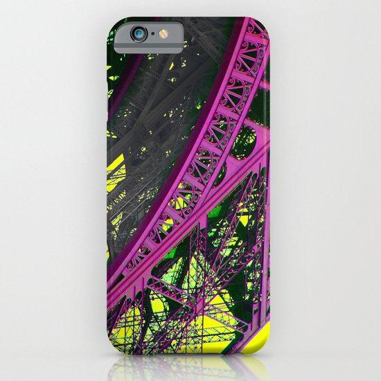 purple paris iPhone & iPod Case