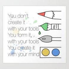 Create It Art Print
