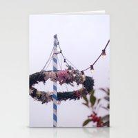 Lights on a String Vintage Stationery Cards