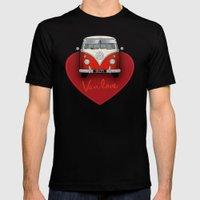 Van Love Mens Fitted Tee Black SMALL
