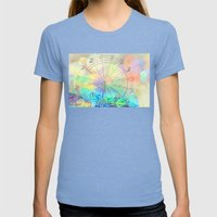 The Dream Weaver... Womens Fitted Tee Tri-Blue SMALL