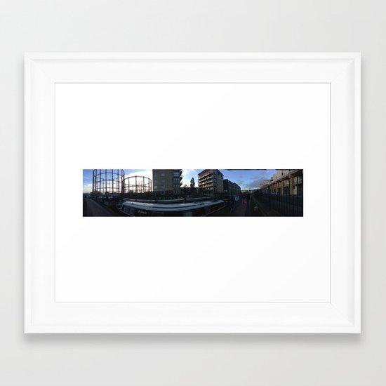 EASTEND Framed Art Print
