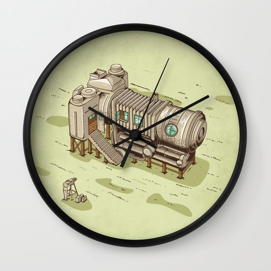 Cam Suite Wall Clock