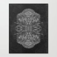 Etched Offering Canvas Print