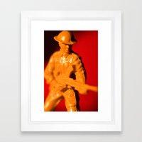 THE DESERT RAT Framed Art Print