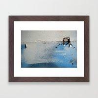 Wallholes Framed Art Print