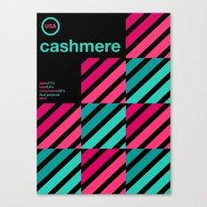 cashmere single hop Canvas Print