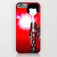 iPhone & iPod Case featuring kimono by Cynthia