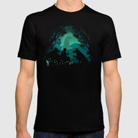 Forest Dwellers Mens Fitted Tee Black SMALL