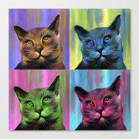 Meow Canvas Print